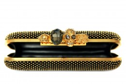 Alexander McQueen_Studded Clutch_ring_detail